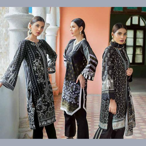 GulAhmed Black & White Collection 2019 With Prices
