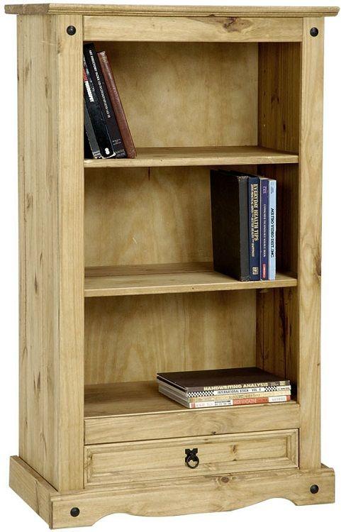 Corona Pine Bookcase Living Room Furniture Book Shelves