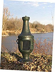 The Blue Rooster Co. Venetian Style Cast Aluminum Wood ...