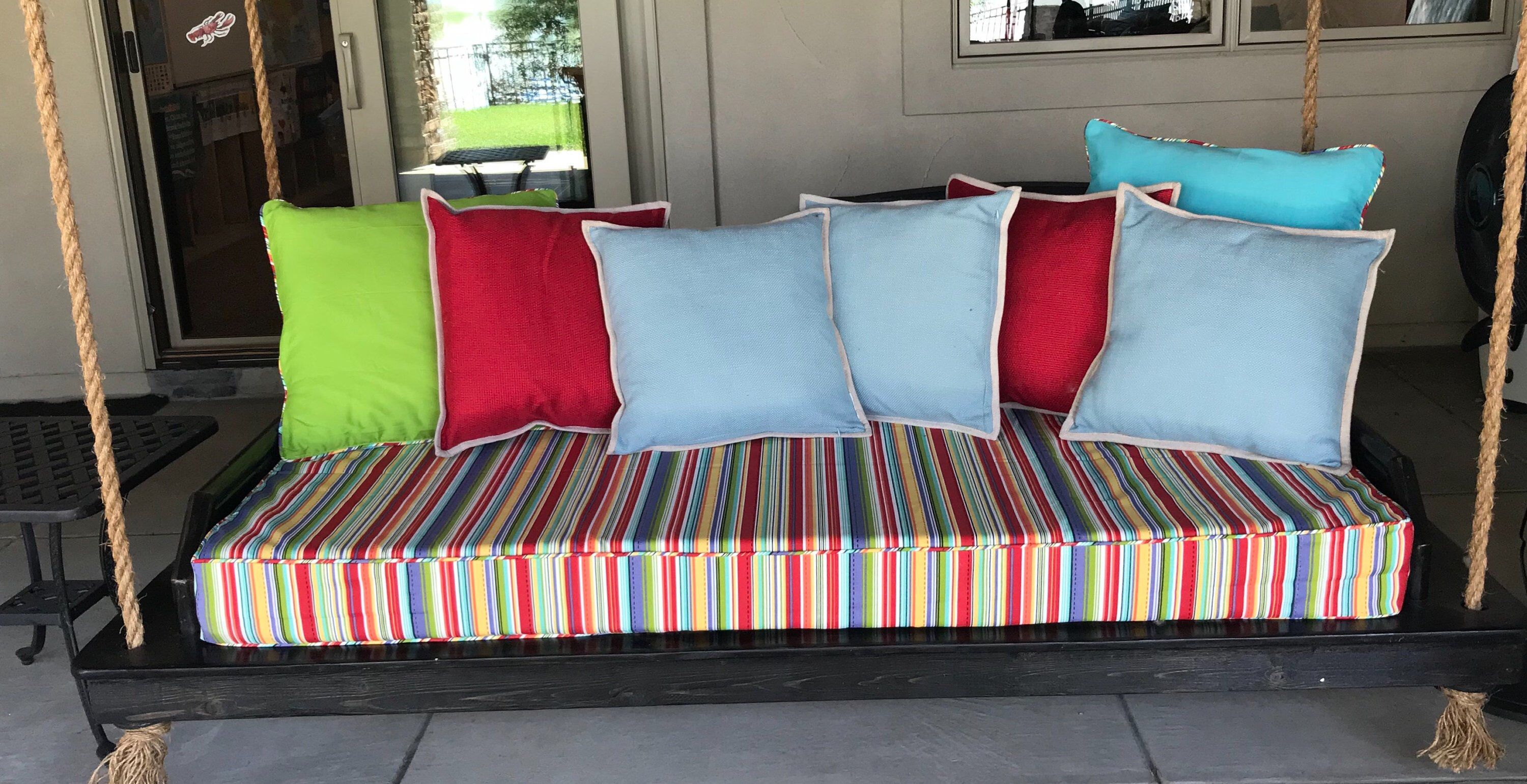 Miraculous Indoor Outdoor Custom Daybed Replacement Cushion Cover With Machost Co Dining Chair Design Ideas Machostcouk