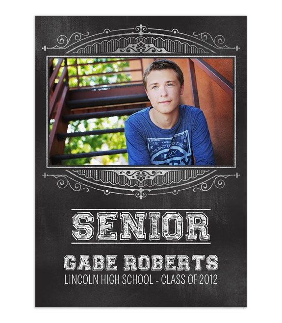 Gabe Senior Boy Template (With Images)