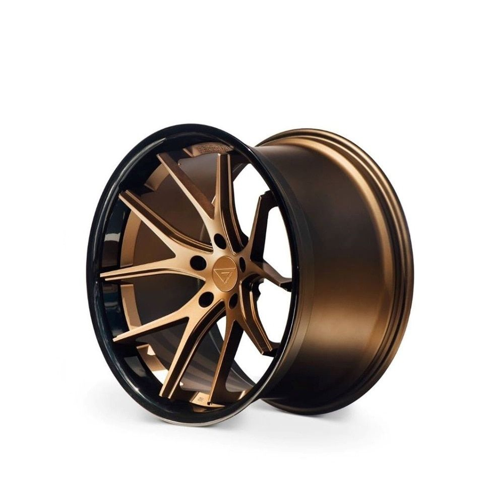 "Ferrada FR2 9 x 20"" Alloy Wheels Bronze Edition in 2020"