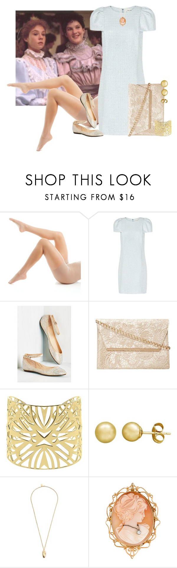 """""""Puffed Sleeves"""" by erin-wright-1 on Polyvore featuring Berkshire, Reiss, Betsey Johnson, Dorothy Perkins, Vélizance, Everlasting Gold and Pembe Club"""