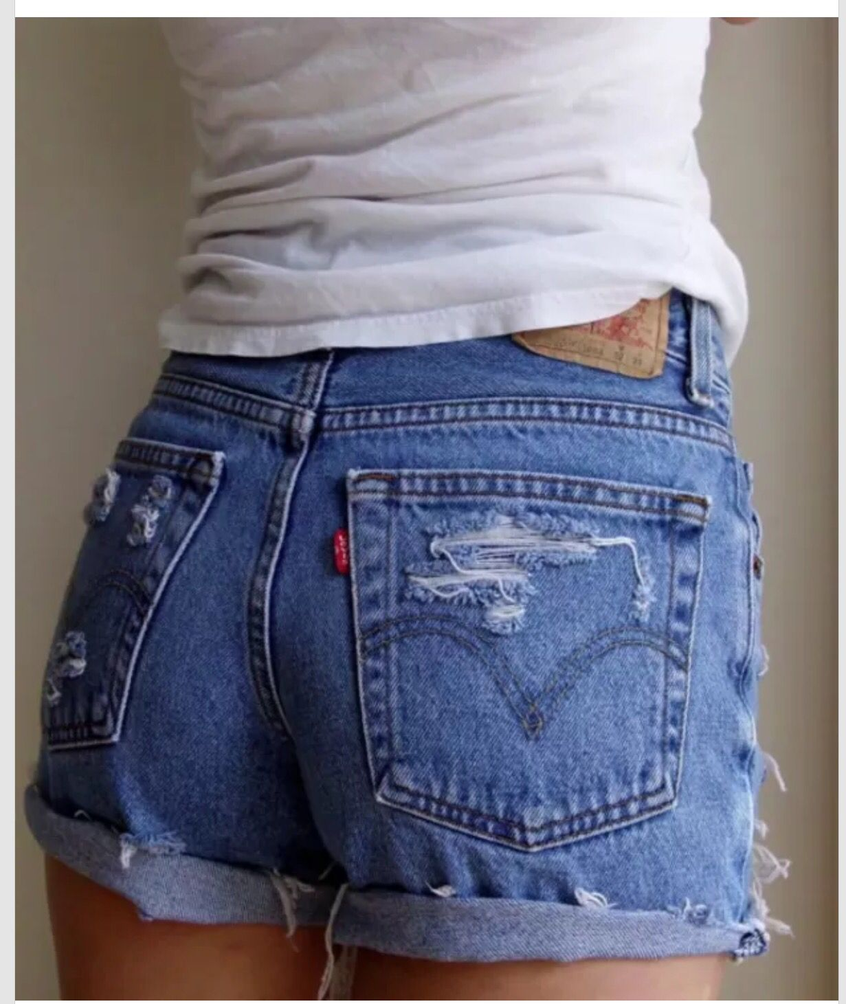 Buy High Studded waisted shorts tumblr picture trends