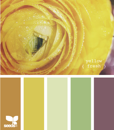 yellow fresh- I love this whole palette a lot- I may actually use this soon.