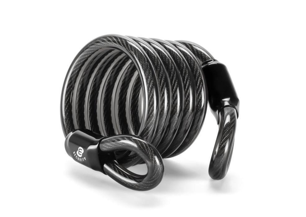 ETRONIC Security Lock Self Coiling Lock