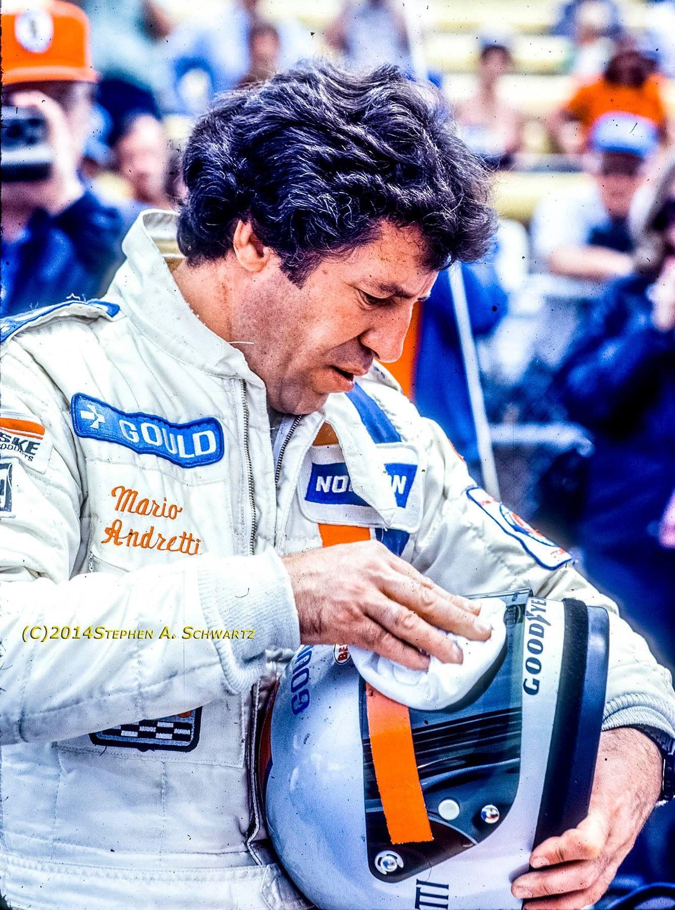 Mario Andretti, Indy. Mario andretti, Racing helmets, Mario