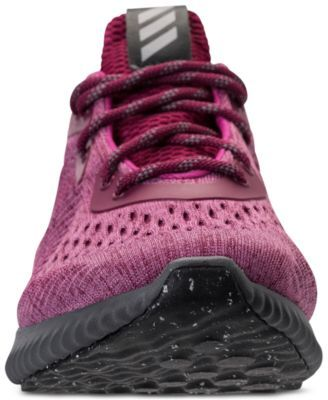 3d5188f1d adidas Women s Alpha Bounce Em Running Sneakers from Finish Line - Red 7.5