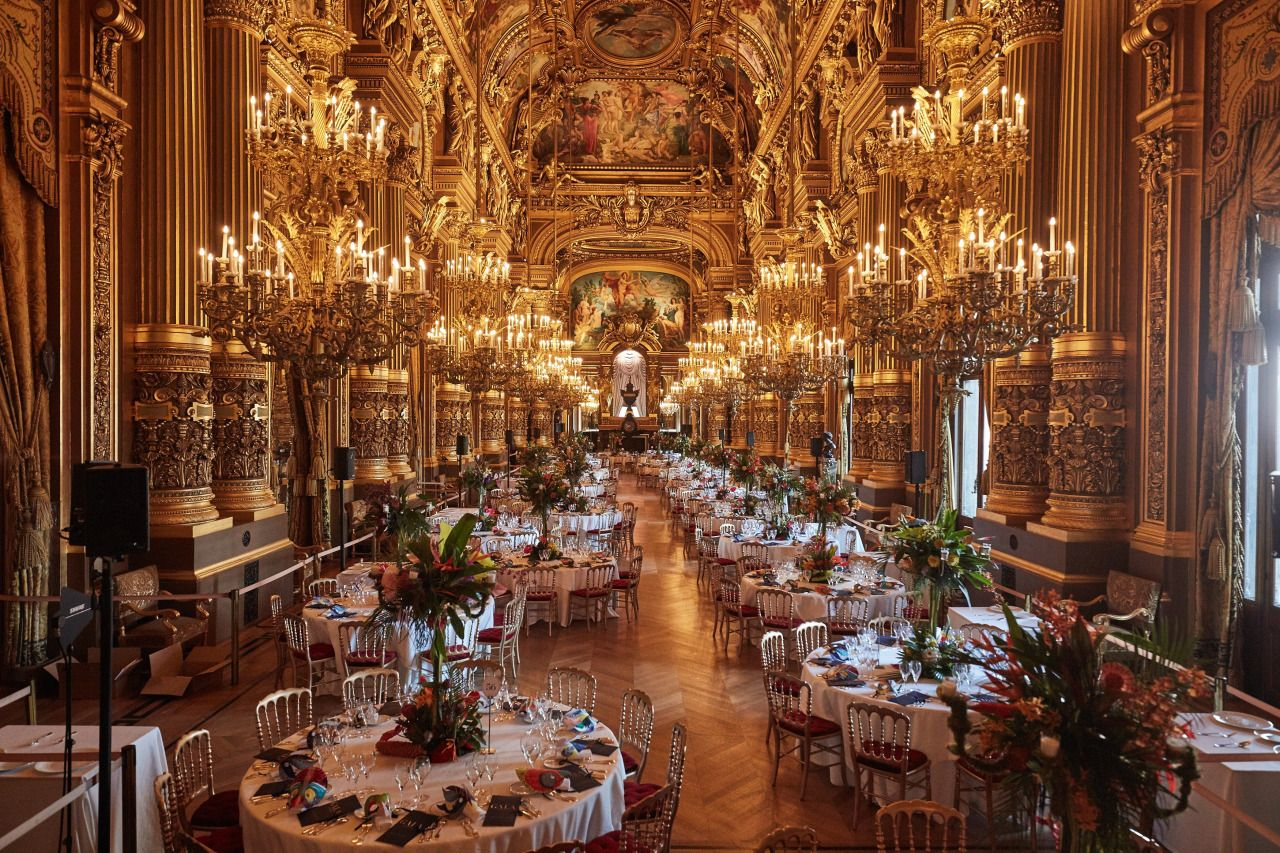 gala d 39 ouverture de la saison 16 17 du ballet opera national de paris palais garnier interior. Black Bedroom Furniture Sets. Home Design Ideas