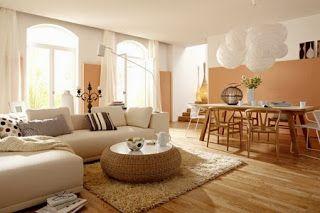 Salas Color Arena Ideas De Salas Con Estilo Decoracion De Interiores Salones Rusticos Interiores De Casa