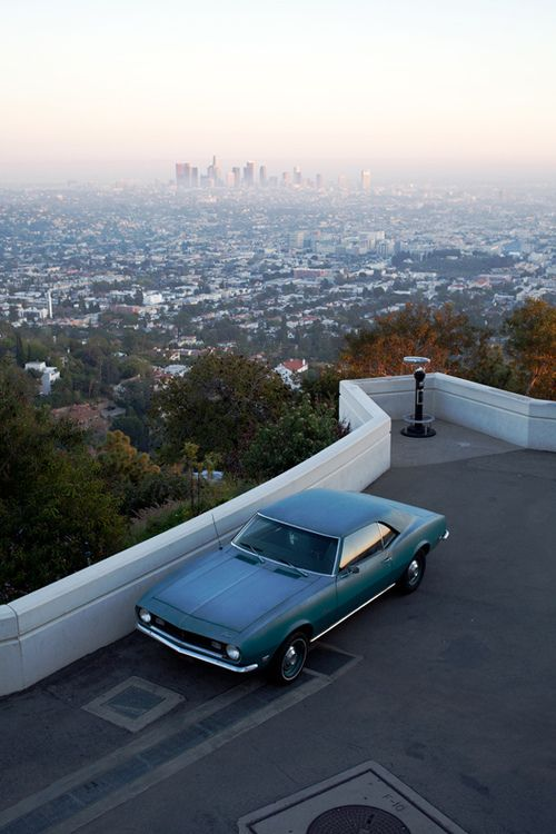 Griffith Observatory Griffith Park How Did That Car Get Their Thru The Tiny Path California Los Angeles California Views