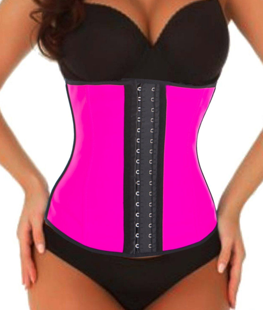 4cba3669bb Sexy Waist Trainer Waist Cincher Corset Body Shaper Shapewear Tummy Control  Underwear Vest Sauna Suit Underbust Bodysuit for Woman Man Weight Loss  Workout ...