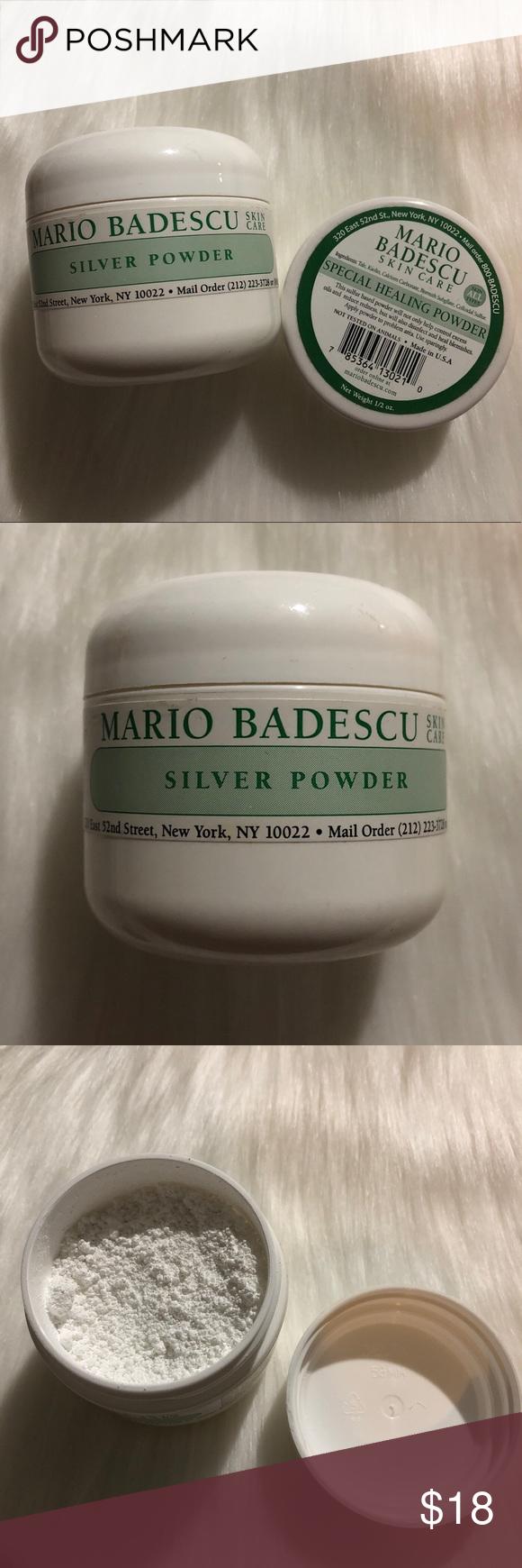 Mario Badescu Silver Special Healing Powders Mario Badescu Mario Badescu Silver Powder Mario