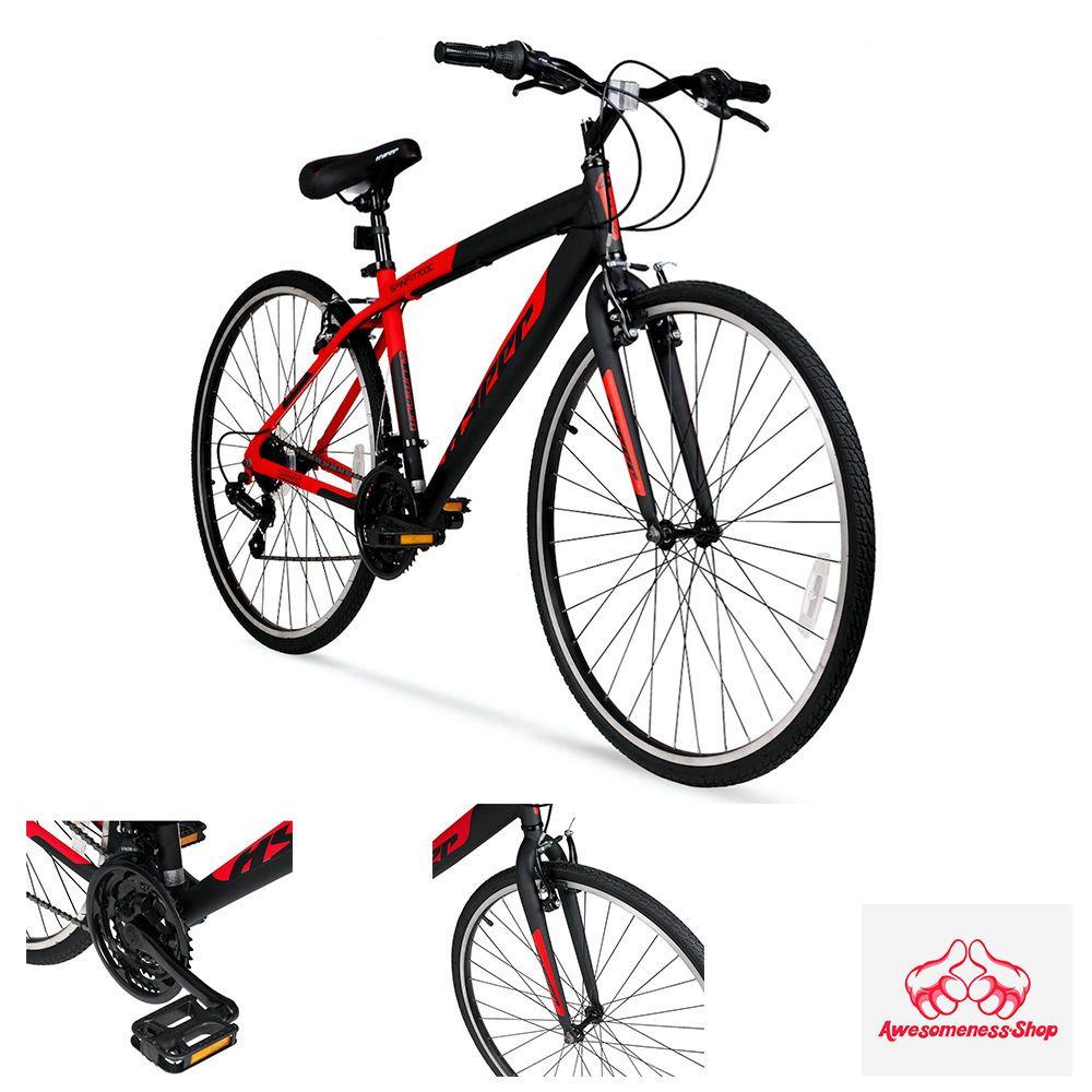 Specialized Hybrid Bike Red Men S 700c Mountain Bikes 26 In Road