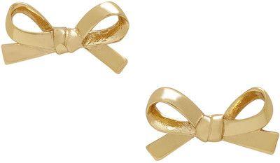 Kate Spade Bow-Shaped Stud Earrings