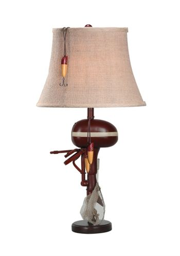 Delicieux Boat Motor Table Lamp   Roughing It In Style Lighting