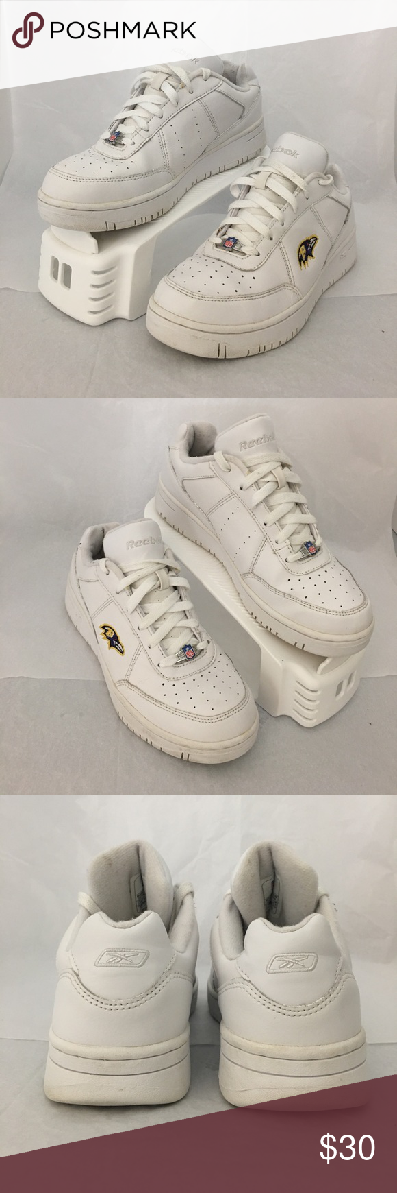 a481e6a32267 Reebok Reebok NFL Raven shoes in excellent condition. Fresh out of the  Washer. Smoke and pet free house. Sizes  4.5 will fit youth and men s.