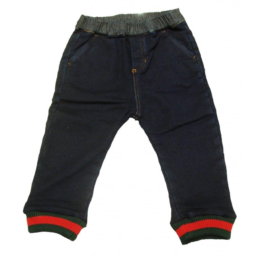 160c6cf26b03 Gucci Baby Boys Soft Jeans