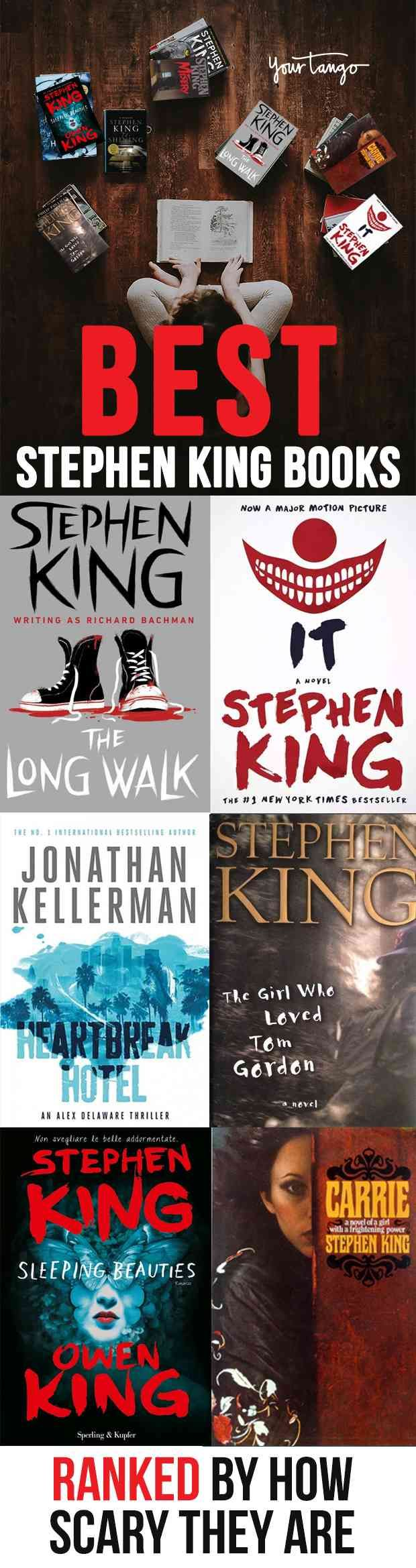 Every Single Stephen King Novel Ranked By How Likely They Are To