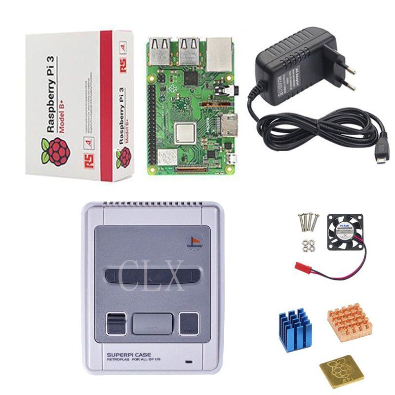 Retroflag SUPERPi CASE-J NESPi Case+ Raspberry Pi 3 Model B