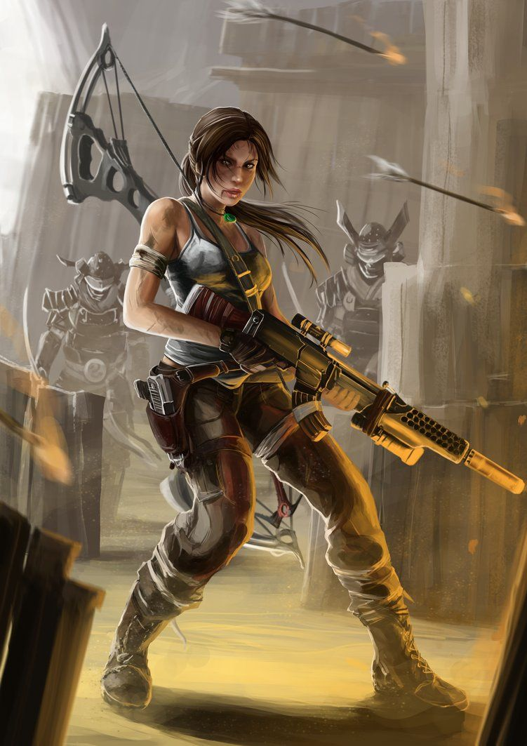 Lara Croft by PeterPrime on deviantART | Anime~Gaming ...