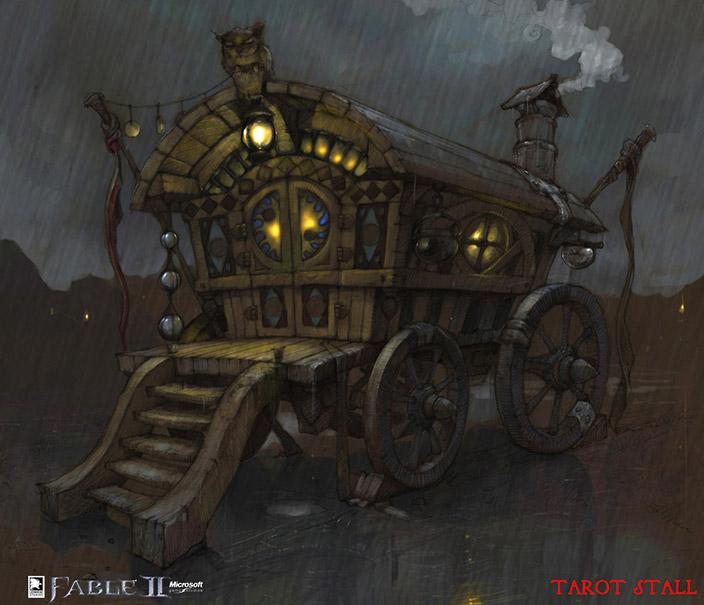 Caravan concept design - Fable II    Fable   Fable 2, Fable ii