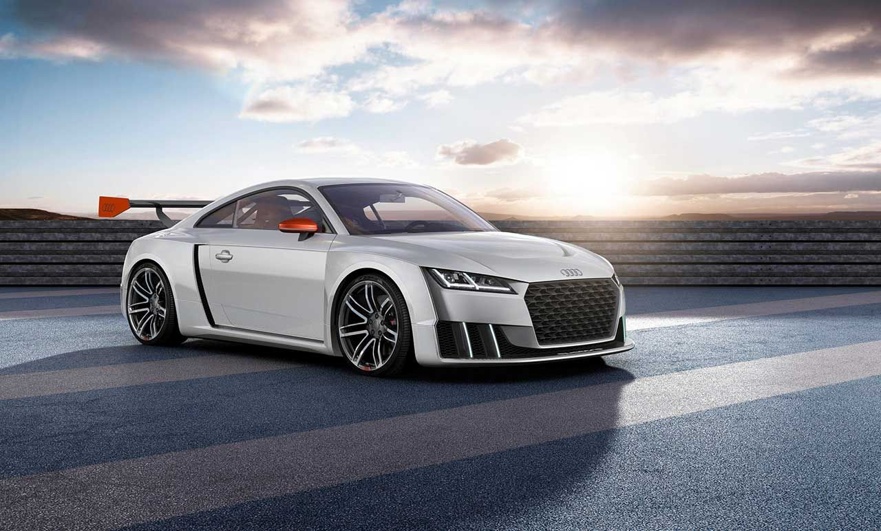 Audi brings the tt clubsport turbo concept at worthersee tour 2015 http www