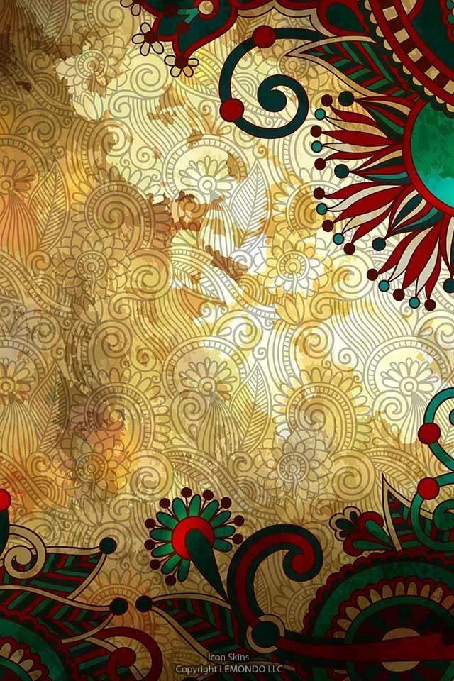 nice pattern wallpaper boho - photo #13