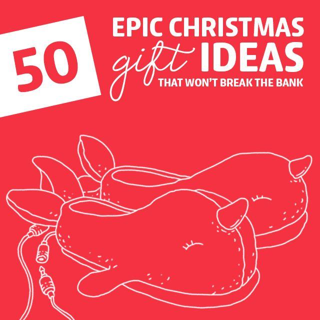 50 epic christmas gift ideas christmas gifts banks and 50th 50 epic christmas gift ideas that wont break the bank negle Choice Image