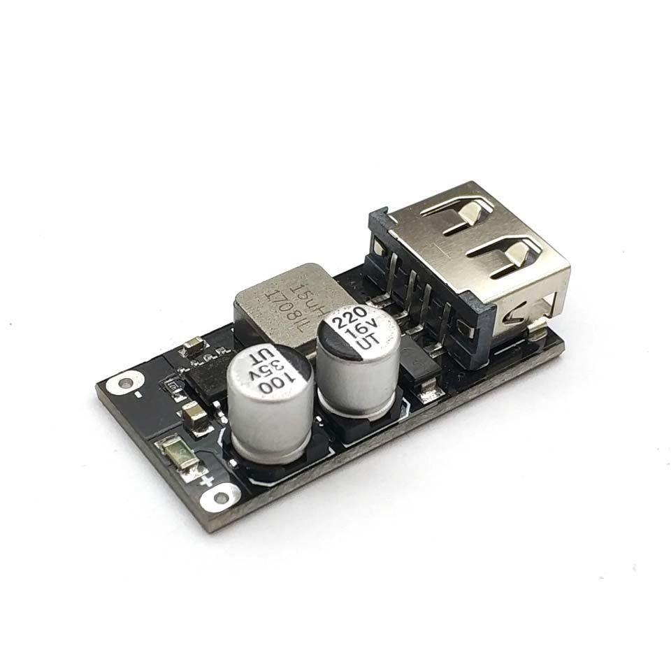 6-32V QC2.0 QC3.0 DC-DC Step Down Buck Converter 12V//24V Charging Circuit Module