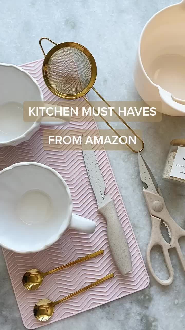 The prettiest kitchen must-haves from Amazon! #lea