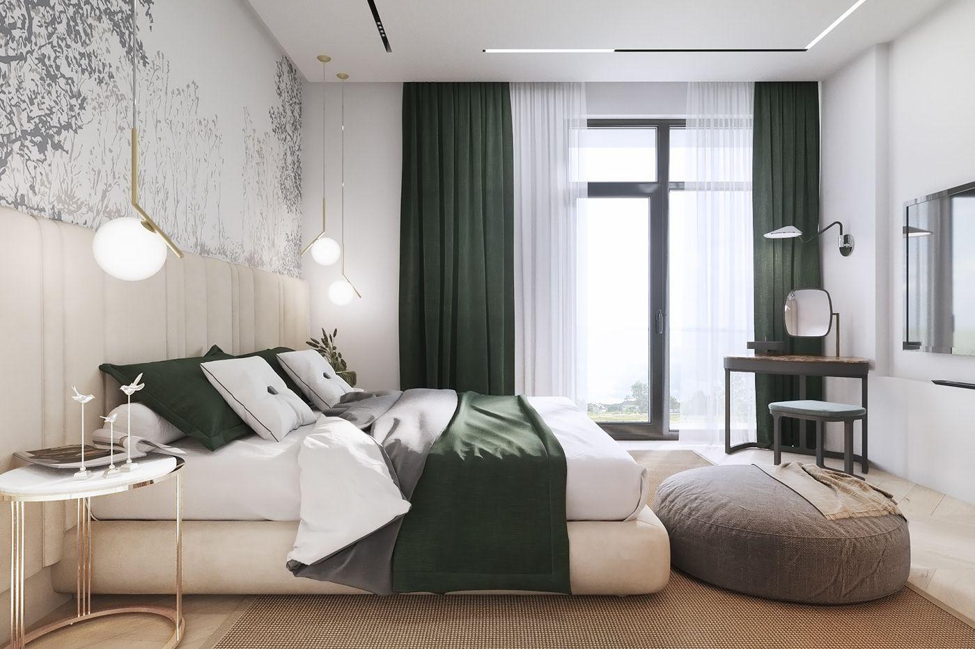 Inside The Modern House On Behance Modern House Interior Design