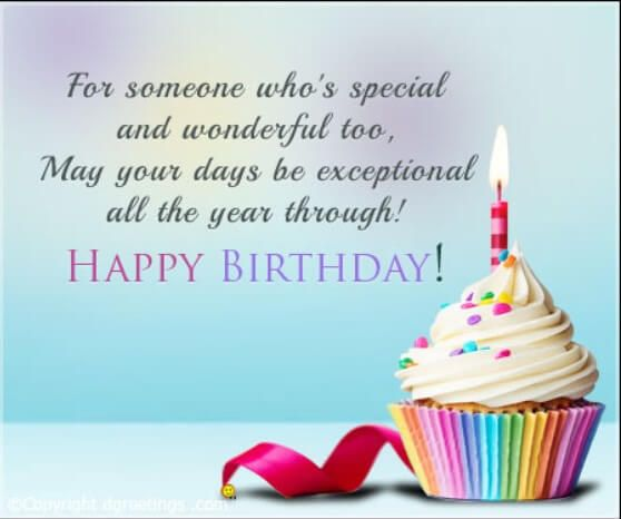 Birthday Greeting Messages For Best Friend