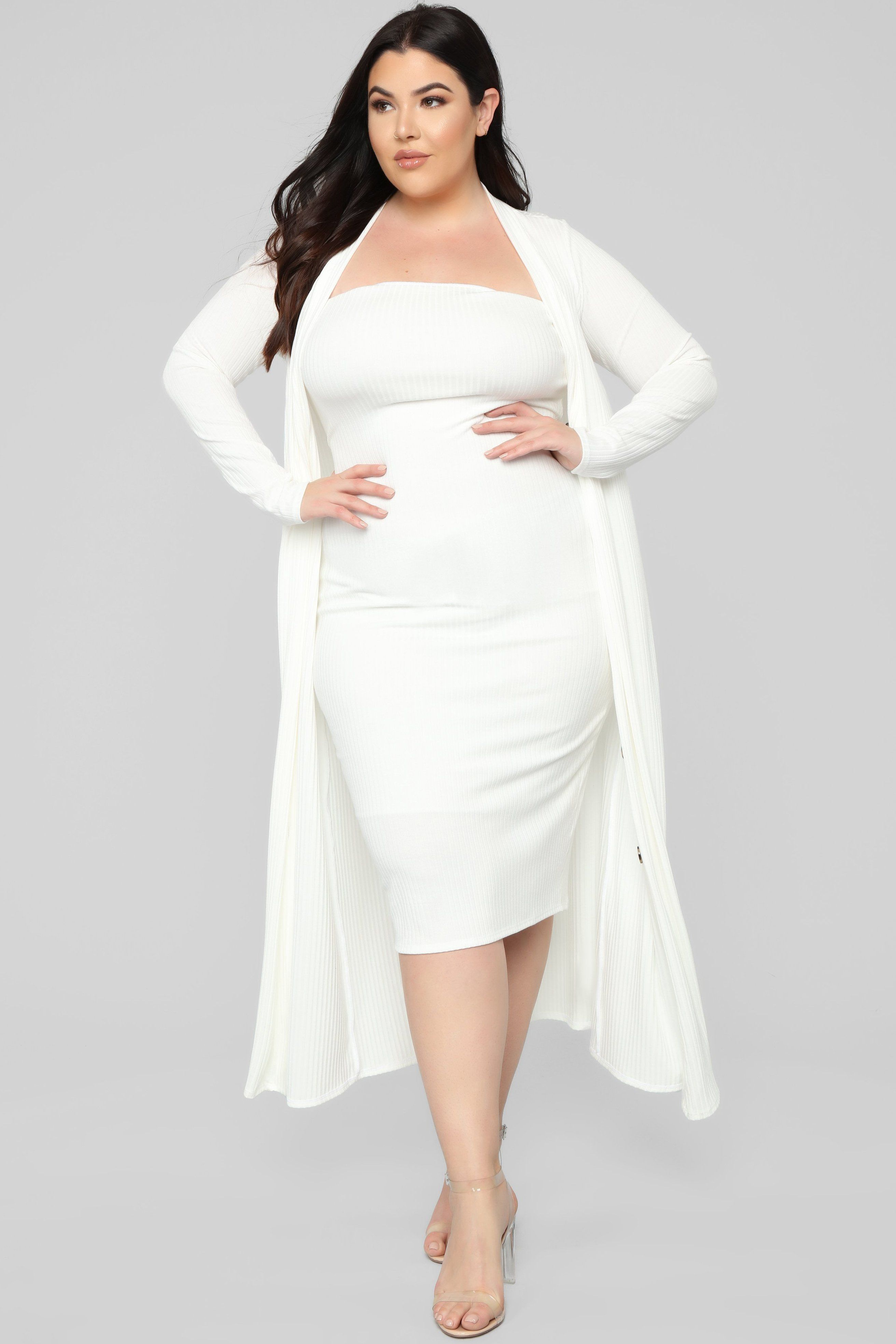 Never Looking Back 2 Piece Dress White In 2021 White Plus Size Dresses Beautiful White Dresses Plus Size Lace Dress [ 3936 x 2624 Pixel ]