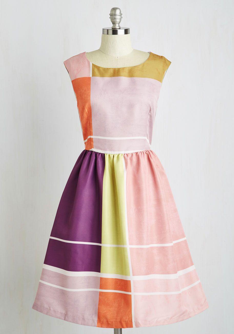 Your Color Story Dress | Mod Retro Vintage Dresses | ModCloth.com