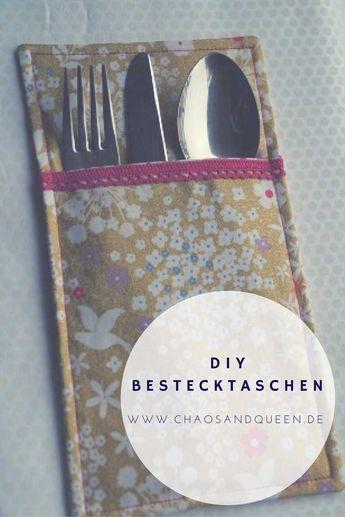Bestecktaschen DIY
