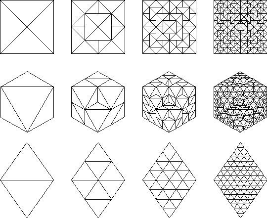 Simple Fractal Patterns Architecture Drawings And Fractal