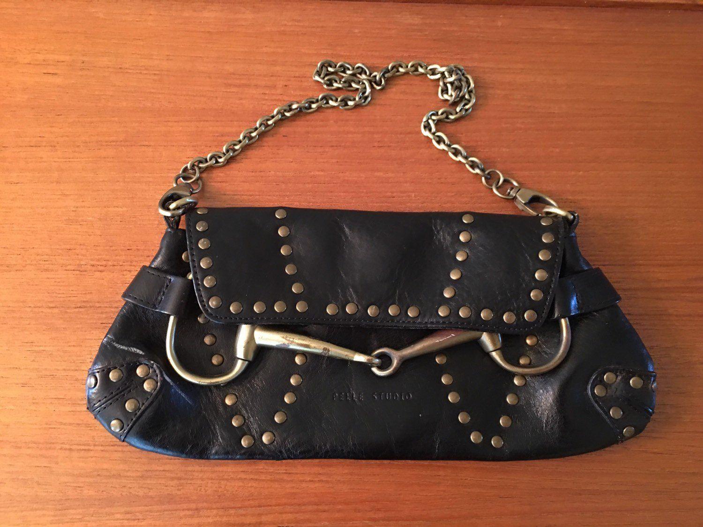 Vintage Pelle Studio Studded Leather Handbag, Wilson