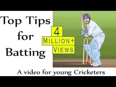 If You Want To Consistently Hit Balls In Cricket You Have To Know The Right Technique When You Re Up At Bat Once You Maste In 2020 Cricket Tips Cricket Coaching Tips