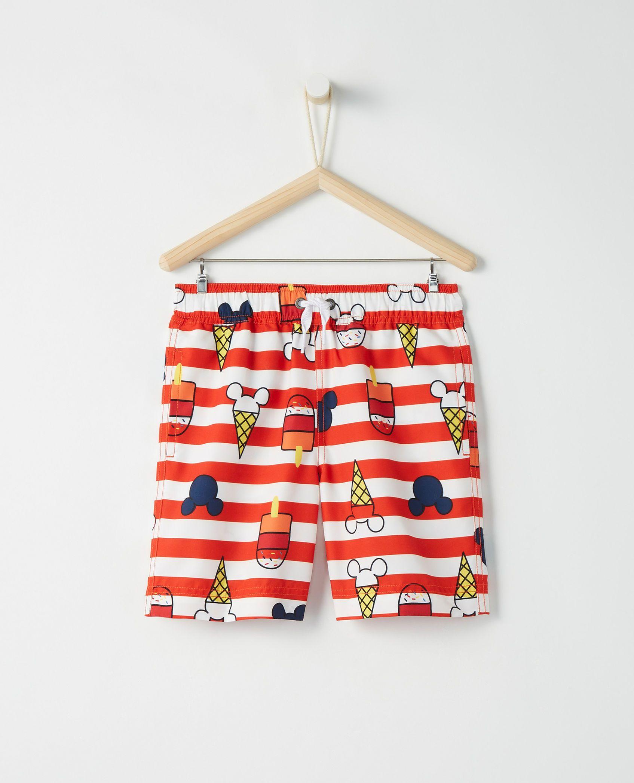 Disney Mickey Mouse Sunblock Swim Shorts Disney mickey