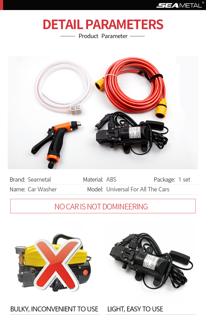 12v Car Washer Water Pump Cars High Pressure Cleaner Washing Machine Lazada In 2020 Pumping Car Car Washer Water Pumps