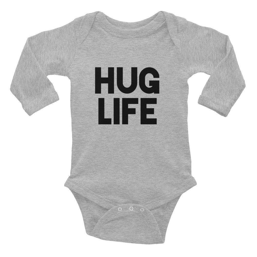Hug Life: Infant Long Sleeve Bodysuit
