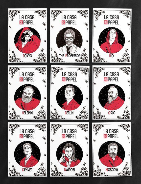 Affiche Le Professeur Serie Tele La Casa De Papel Money Etsy Fond Pop Art Affiches D Art Fond D Ecran Telephone