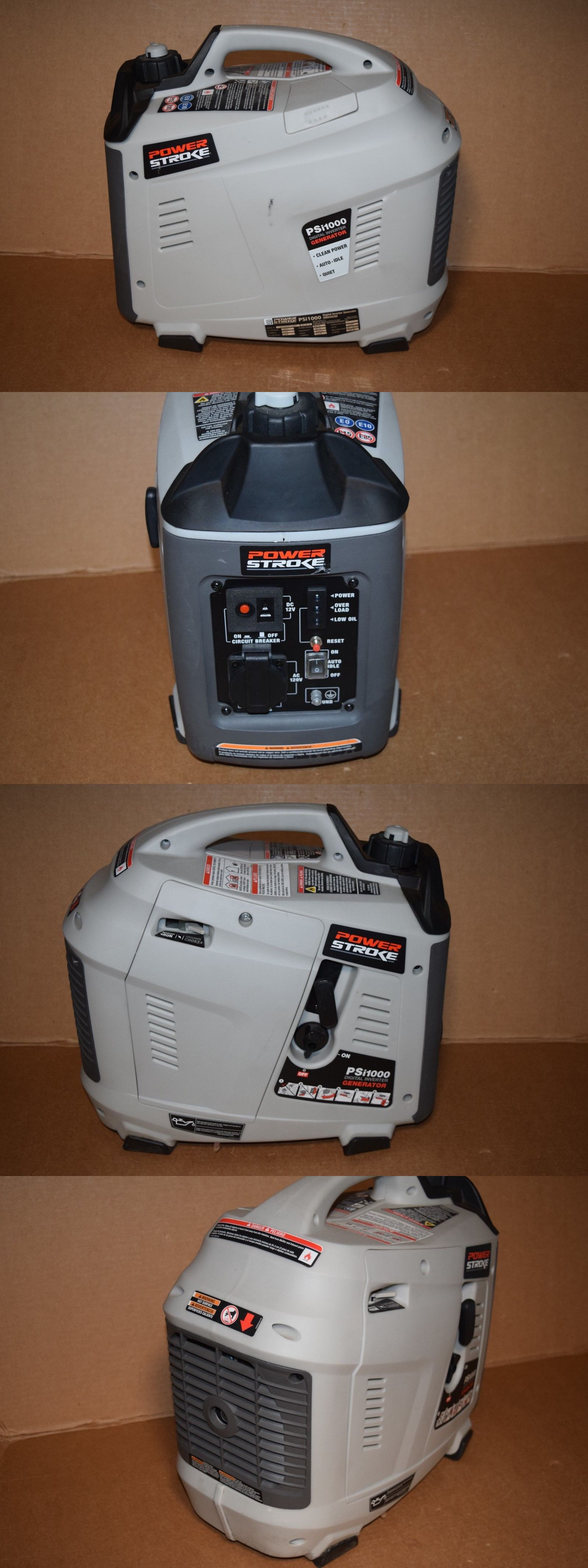 Generators Power Stroke Psi1000 Inverter Portable Generator