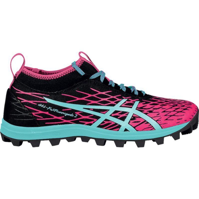 Asics Women's GEL-FujiRunnegade 2 Trail Running Shoes, Size: 6.5, Black