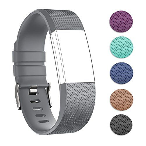 Replacement Band For Fitbit Charge 2 Creategreat Soft Sil Https Www Amazon Com Dp B01m01mof5 Ref Cm Sw R Fitbit Fitbit Charge Fitness Wristband