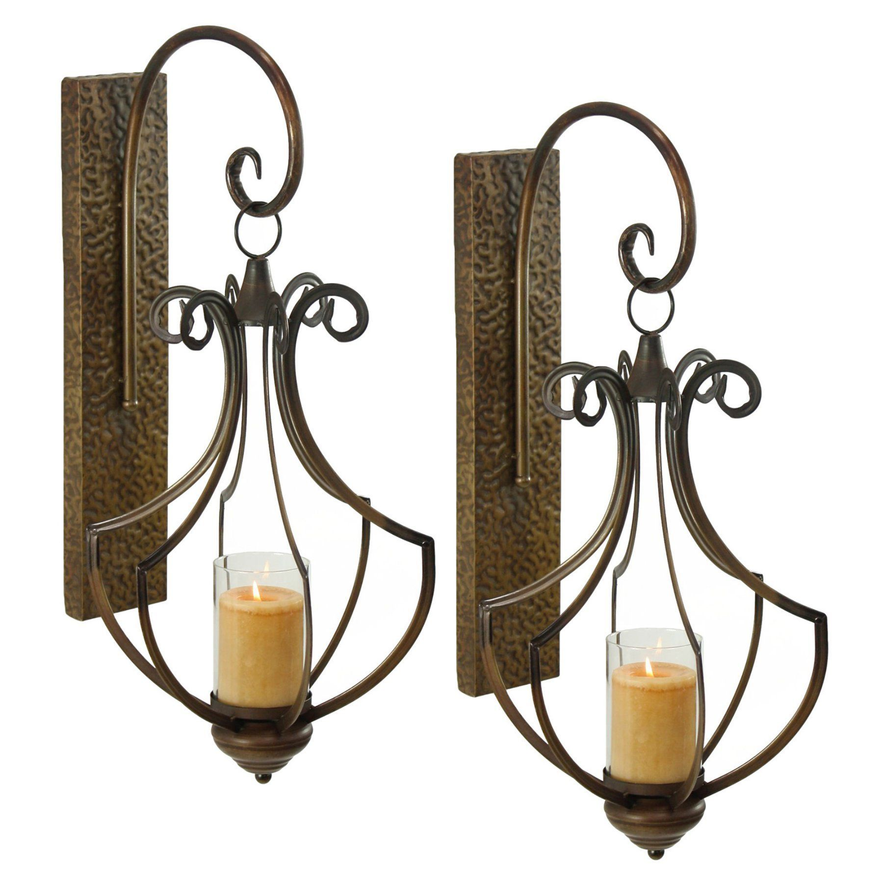Aspire home accents ribley candle wall sconce set of