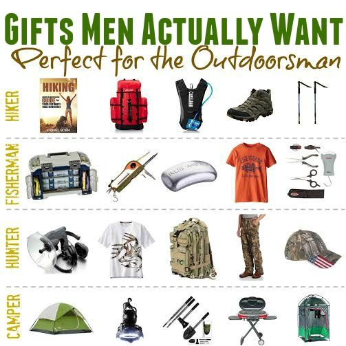 gifts men actually want outdoorsman