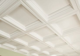 DIY Coffered Ceiling | Great Furniture | Pinterest ...