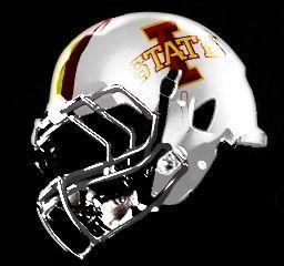 Helmet Iowa State Cyclones Countdowntokickoff Cyclonefb With